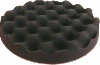 губка профилированная мягкая APP f180 на липучке, 180мм х 2,5см, черная