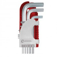 Набор Г-образных шестигранных ключей 9 шт., 1,5-10 мм Small INTERTOOL HT-1801