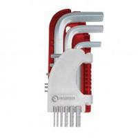 Набор Г-образных шестигранных ключей 9 шт., 1,5-10 мм, S2, PROF INTERTOOL HT-1803
