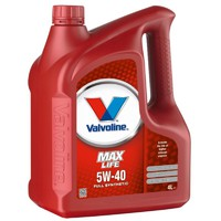 масло Valvoline Maxlife SAE 5W-40 4л