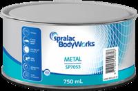 Spralac шпатлевка с алюминием SP7053 0,75 л