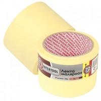 Лента малярная 72мм, 20м, желтая INTERTOOL DM-7220