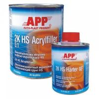 APP 2K HS грунт акриловый черный 4л+0,8л