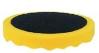 APP Полировальный круг профилированный на липучке d180 желтый