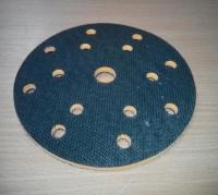 жесткая подложка универсальная  PYRAMID, диаметр 150мм, 15 отверстий, оранжевая