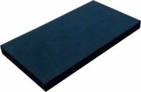 Мягкая ручная оправка для водостойкой абразивной бумаги, черная, 65х132х10мм
