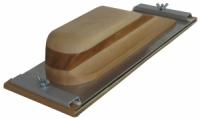 Рубанок деревянный вид D, крепление винтовой зажим, 310x110мм