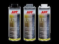 средство для защиты кузова и герметик APP U210 2 in 1 черный
