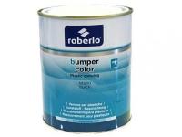 Роберло краска для бампера структурная черная 1л