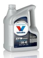 масло моторное VALVOLINE SynPower SAE 5W-40 5л