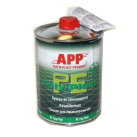 смола полиэфирная APP Poly-Plast для ремонта бамперов и ламинирования 1кг