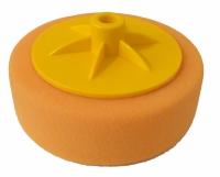 Круг полировальный Chamaleon с резьбой М14 универсальный, оранжевый, 150мм