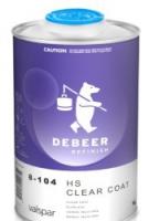 лак HS 8-104 DeBeer 1л + отвердитель 8-150 0,5л
