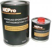 антикоррозионный эпоксидный грунт NCPro 3+1 1л комплект