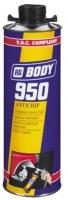 средство для антигравийной защиты Body 950 черный 1л