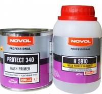 Novol PROTECT 340 реактивный грунт, 0,2л + 0,2л отвердитель