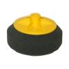 Круг полировальный Chamaleon с резьбой М14 мягкий, черный, 150мм