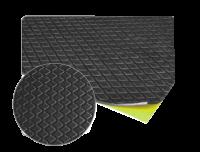 Самоклеящийся битумный звукопоглощающий мат – твердый APP 250*500мм