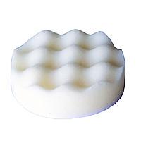 Круг полировальный волнистый белый на липучке 80*25 мм Китай