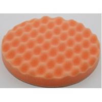 Китай круг полировальный оранжевый полужесткий волнистый 150*25мм