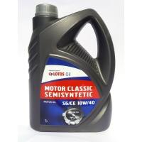 масло моторное LOTOS MOTOR CLASSIC SEMISYNTETIC SG/CE 10W/40 5л