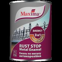 Эмаль антикоррозийная по металлу Maxima 3 в 1 гладкая 0,75 кг