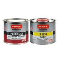 Грунт эпоксидный NOVOL PROTECT 360 0,4л + отвердитель NOVOL H5950 0,4л
