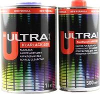 2К акриловый лак Ultra Novol Klarlack 400 (1л) + отвердитель (0,5л)