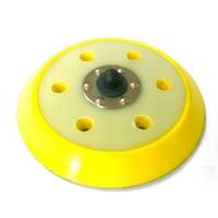 Платформа для шлифовальных машин желтая d150 мм 6 отверстий 18 мм