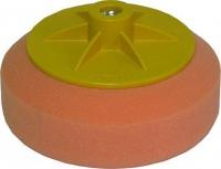 Круг полировальный APP с резьбой M14, универсальный (оранжевый)