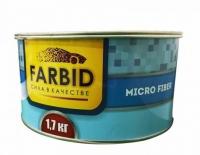 Farbid Шпатлевка стекловолокно Micro fiber 1,7 кг