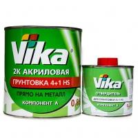 Грунт акриловый 4+1 HS Vika Вика черный (комплект 1,42кг)