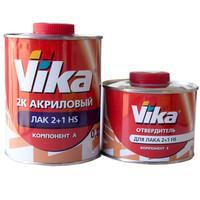 Лак акриловый VIKA (Вика) HS 2+1 с отвердителем 1,28 л