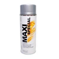 Краска термостойкая серебристая MAXI COLOR Special MX0007 400 мл
